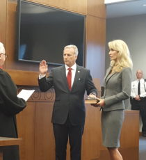 Reilly Sworn In