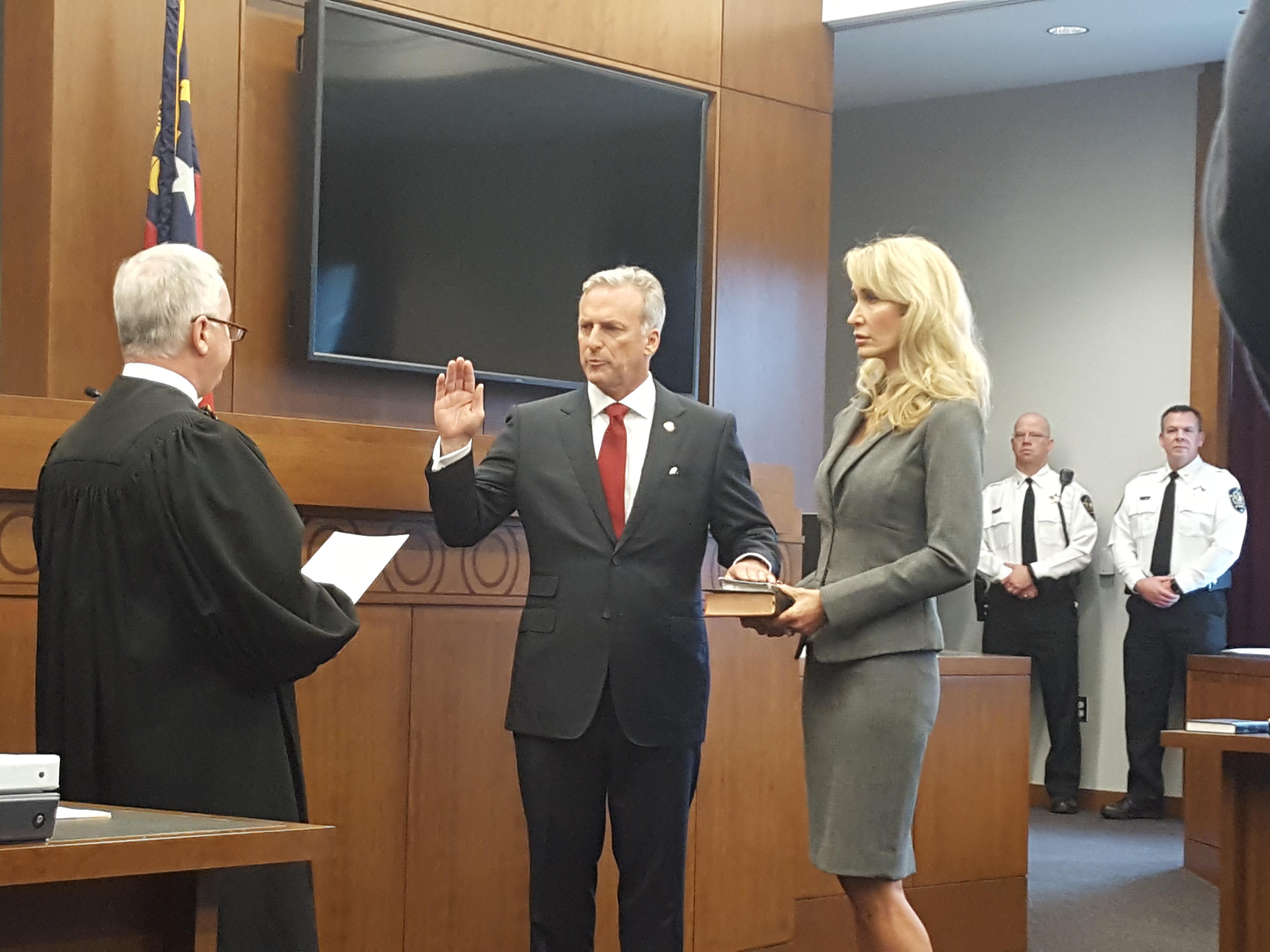 Reilly Sworn In