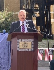 DA Reilly Speaks at Event