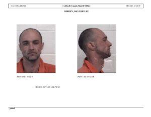 Defendant Skyler Obrien Mugshots